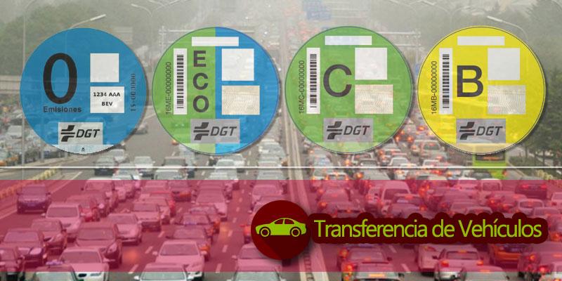 Tipos de etiquetas DGT